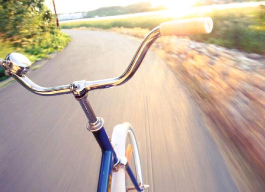 Bibione Caorle pista ciclabile Valle Vecchia Brussa