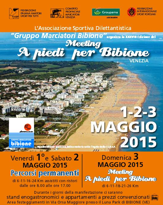 Marcia A piedi per Bibione 2015
